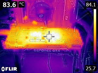 ASUS GTX 980 Ti - Thermal imaging
