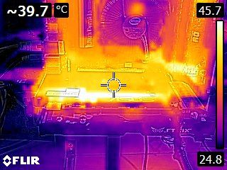 ASUS Strix GeForce GTX 960 DC2 OC 4GB - Thermal imaging