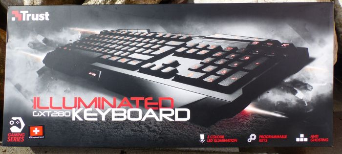 Trust GXT 280 - Gaming keyboard