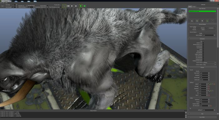 NVIDIA HairWorks viewer
