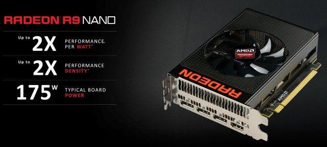 AMD Radeon R9 Nano - Slides