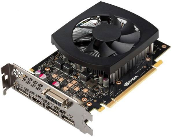 NVIDIA GeForce GTX 950 with reference VGA cooler