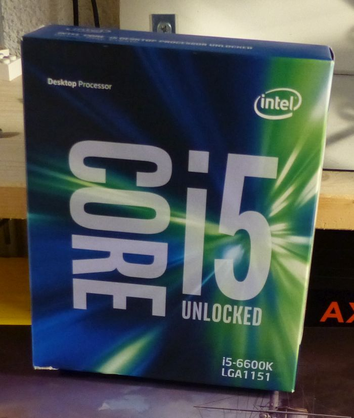 Intel Core i5 6600K CPU