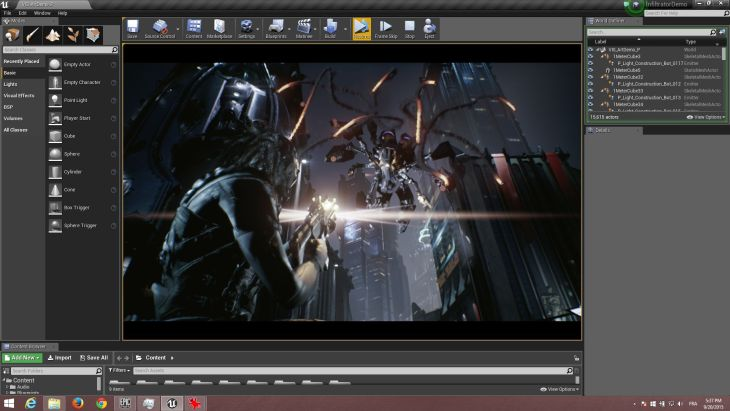 Unreal Engine 4 Infiltrator Demo Released | Geeks3D