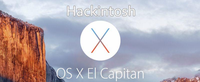 Hackintosh - OSX 10.11 El Capitan
