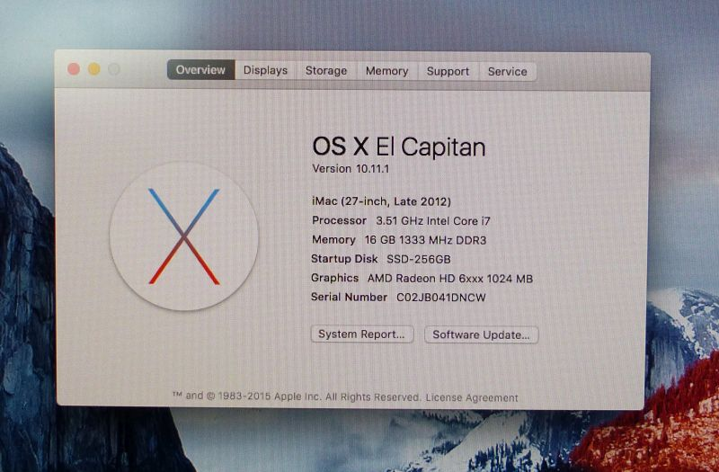 Hackinstosh Updated with OS X 10 11 El-Capitan | Geeks3D