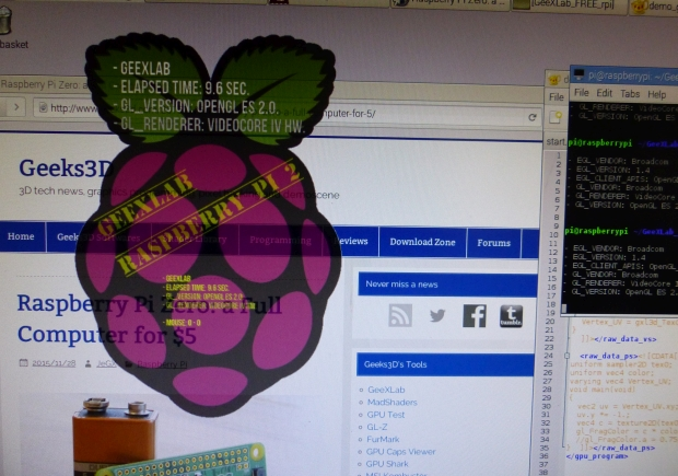 GeeXLab - Window opacity on the Raspberry Pi