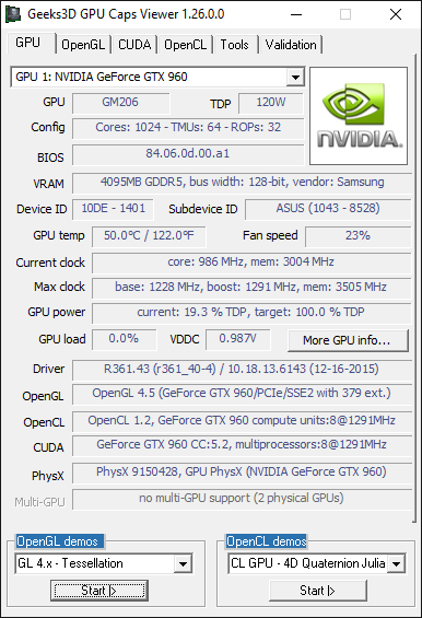 GPU Caps Viewer 1.26.0