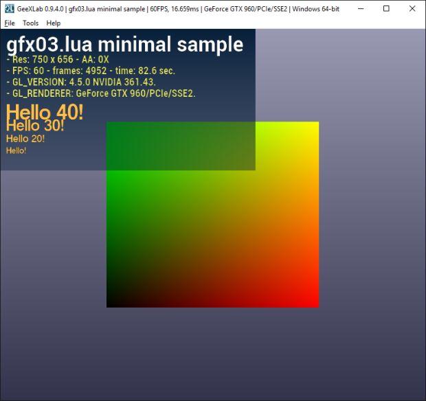 gfx03.lua lib - mininal demo