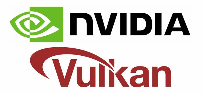 NVIDIA + Vulkan logo