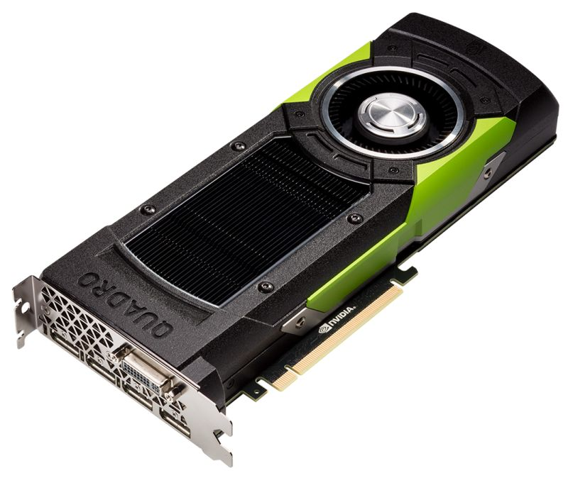NVIDIA Quadro M6000 with 24GB of Graphics Memory
