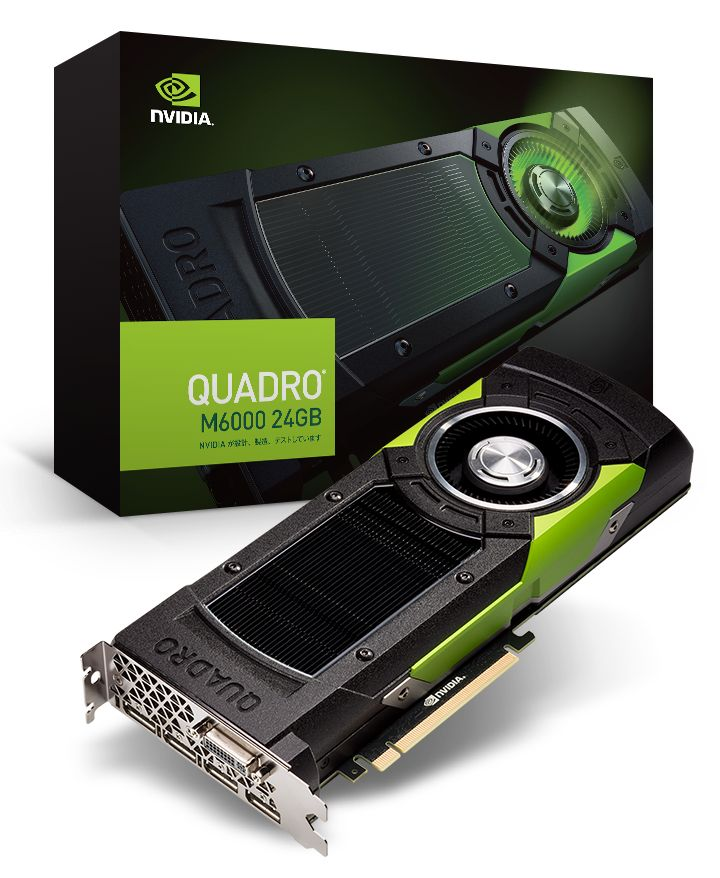 NVIDIA Launches Quadro M6000 with 24GB of Graphics Memory