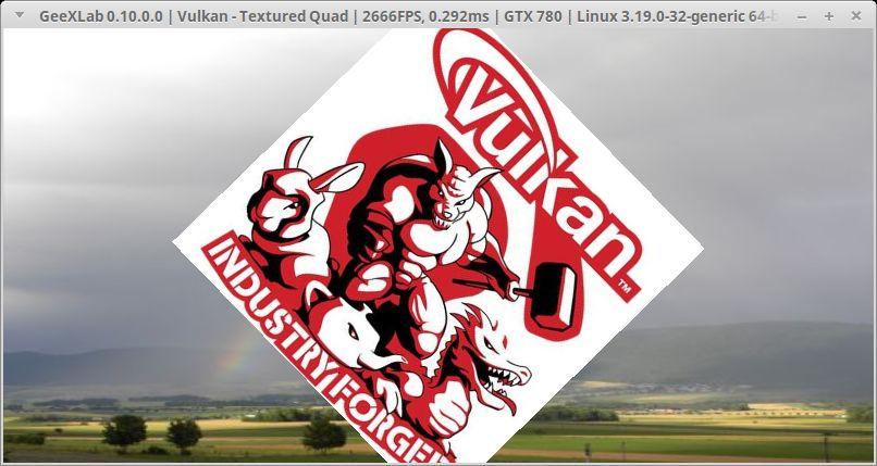 GeeXLab + Vulkan