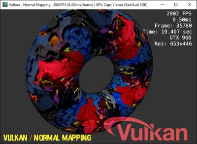 GPU Caps Viewer - GeeXLab SDK - Vulkan demo