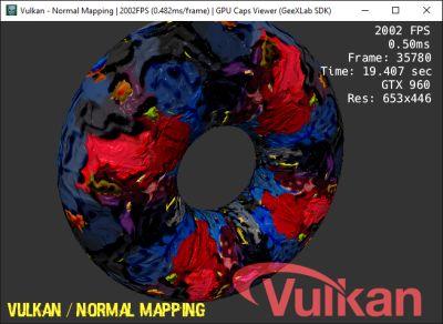GPU Caps Viewer - GeeXLab SDK - Vulkan demo