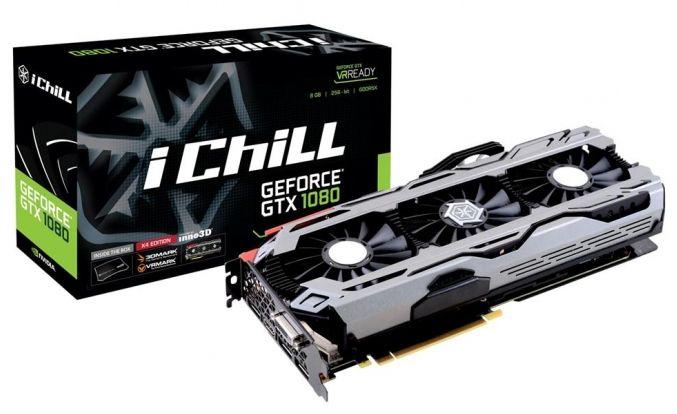 Inno3D iChill GeForce GTX 1080 X3/X4