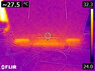 ASUS G752VY - thermal imaging