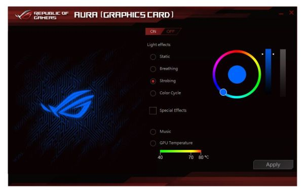 ASUS AURA RGB Lighting