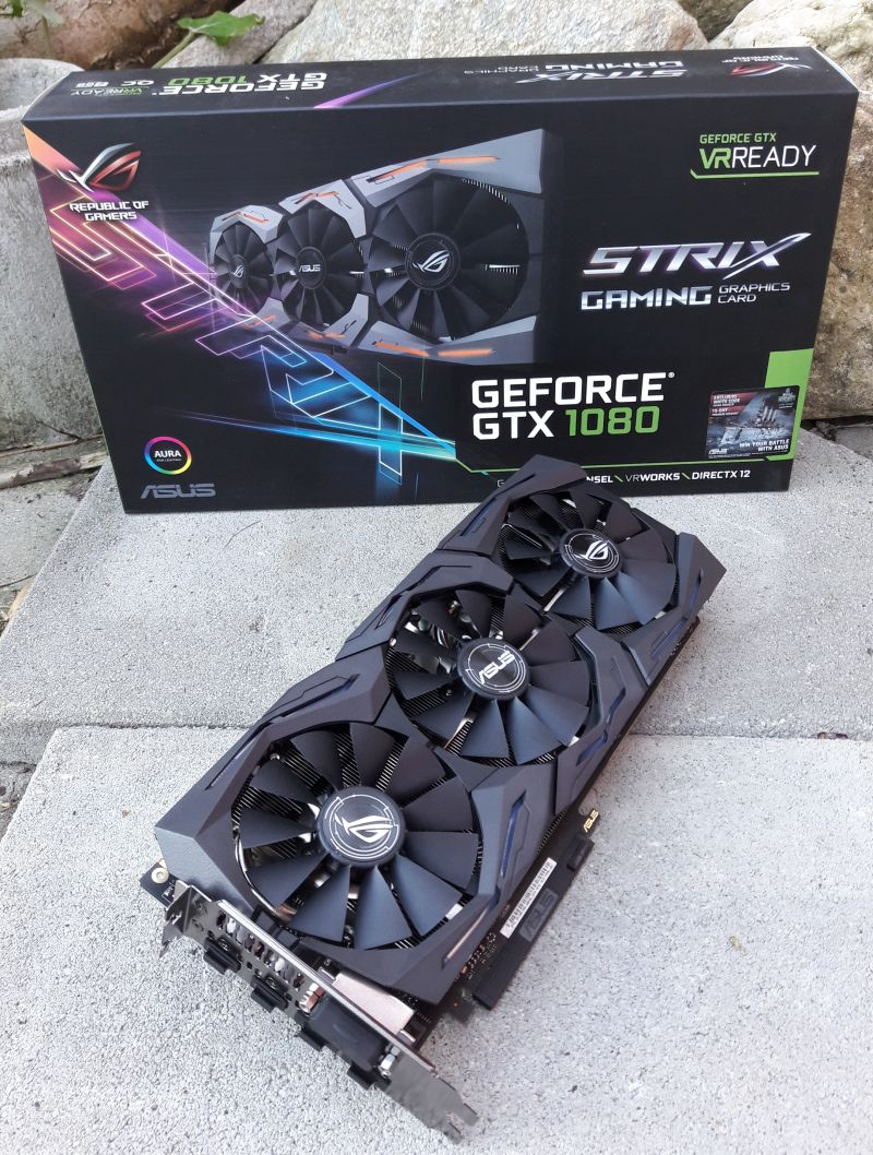 ASUS ROG Strix GeForce GTX 1080 OC 8GB GDDR5X
