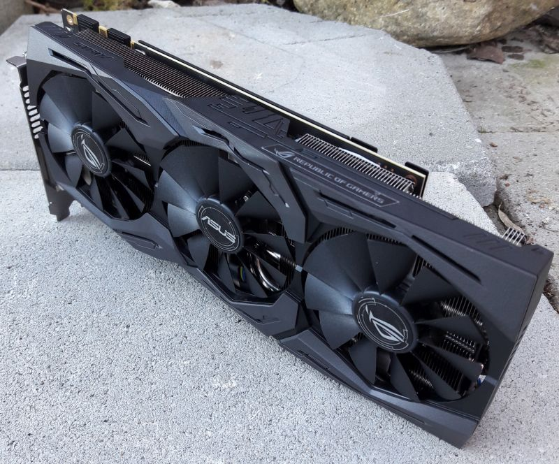 ASUS ROG Strix GeForce GTX 1080 OC 8GB GDDR5X
