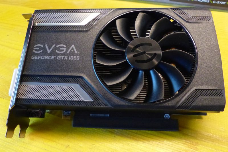 EVGA GeForce GTX 1060 Superclocked