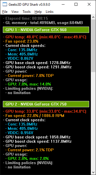 GPU Shark 0.9.9