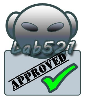 Lab521 APPROVED badge!
