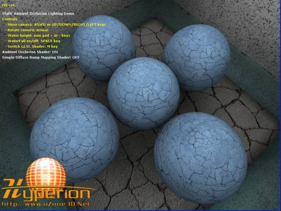 Net Tutorials - Ambient Occlusion Lighting using GLSL & oZone3D.Net Tutorials - Ambient Occlusion Lighting using GLSL