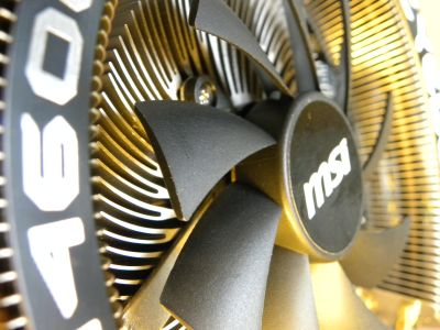 MSI GeForce GTX 460 Cyclone 768D5 OC Edition Review