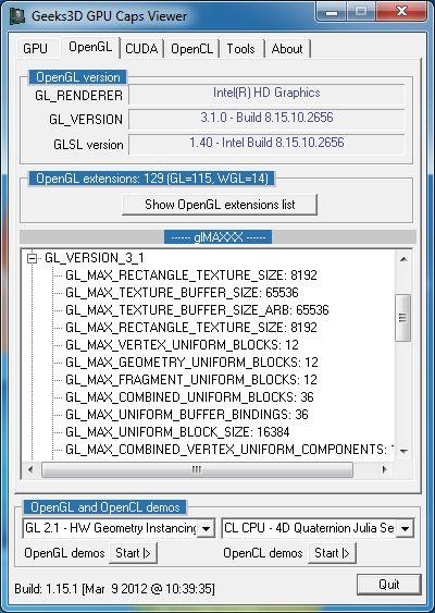 TÉLÉCHARGER OPENGL 3.1