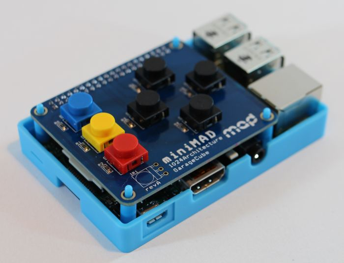 MiniMAD: Raspberry Pi based Video Mapping Device
